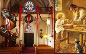 Thánh Giuse và cái thang