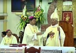 Bài giảng trong lễ nhận sứ vụ GM Alphongso Nguyễn Hữu Long (12.2.2019)