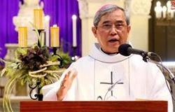 ĐGM Louis Nguyễn Anh Tuấn chia sẻ trong lễ Truyền Tin (25.3.2020)