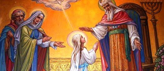 Lễ Đức Mẹ Dâng Mình vào đền thờ (21/11)