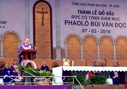 lễ Giỗ đầu Đức TGM Phaolô Bùi Văn Đọc - Bài giảng của ĐTGM Giuse Nguyễn Chí Linh