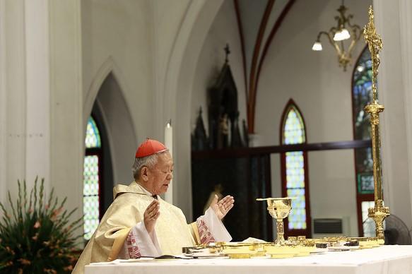 Đức Hồng y Phêrô dâng Thánh lễ tạ ơn, kết thúc sứ vụ mục tử