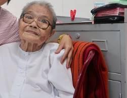Thăm Dì phước 105 tuổi