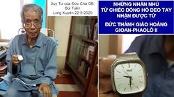 ĐGM G.B Bùi Tuần: Những nhắn nhủ từ chiếc đồng hồ đeo tay ...