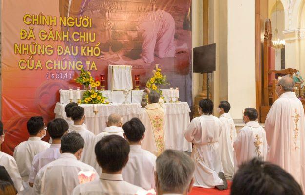 Tổng giáo phận Sài Gòn: Thánh lễ Tiệc ly 2021