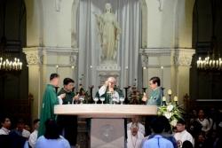 Nhà thờ Chính toà Sài Gòn: ĐTGM Leopoldo Girelli dâng lễ tạ ơn