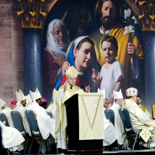 Lễ khai mạc Đại hội Gia đình Thế giới tại Trung tâm Hội nghị Philadelphia