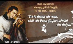 Thánh Luy Gonzaga (1568-1599)
