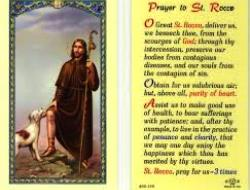 Prayer to Saint Rocco