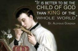 Thánh Lu-y Gonzaga, S.J (ngày kính: 21.6)