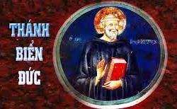 Thánh Biển Đức viện phụ (480-547)