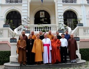 Thành hội Phật giáo: Chúc mừng Giáng sinh Toà TGM