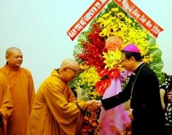 Ban trị sự Giáo hội Phật giáo Việt Nam chúc mừng Giáng sinh