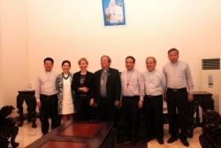 Phái đoàn Ý thăm Toà Tổng Giám mục TP.HCM