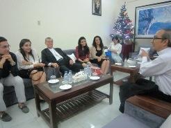 Đoàn Chính thống giáo Ai Cập thăm Trung tâm Mục vụ