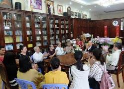 Đồng Xanh Thơ SG mừng Ngân khánh Giám mục của Đức Hồng y