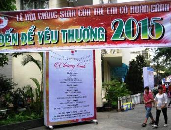 TTMV: Lễ hội Giáng sinh cho trẻ có hoàn cảnh đặc biệt (19.12.2015)