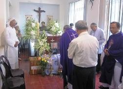 Hiệp thông cầu nguyện cho Bà cố Maria Võ Thị Hê