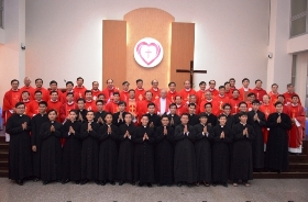 TTMV: Thánh lễ trao tu phục cho chủng sinh dự bị (26/09/2015)