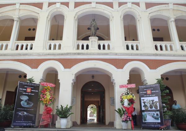 TTMV: Khai mac phòng trưng bày Đèn cổ Việt Nam (22.04.2018)