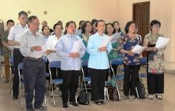 Họp mặt giáo lý viên Dự tòng & Hôn nhân lần II/2019