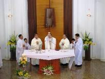 Lễ tạ ơn Ngân khánh linh mục Giuse Vũ Hữu Hiền