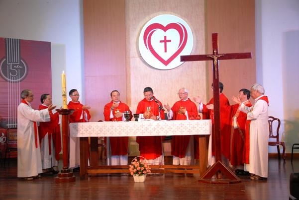 Thánh lễ bổn mạng nhóm Lửa Hồng (24.5.2015)