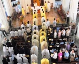 TTMV: Thánh lễ Tạ ơn Ngân khánh Linh mục (27.6.2017)