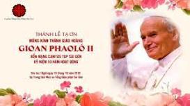 Thánh lễ Tạ ơn 10 năm Caritas TGP Sài Gòn (19.10.2019)