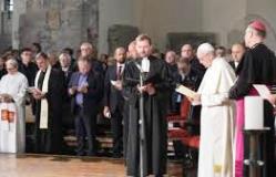 Tông du Lettoni: Buổi cầu nguyện đại kết (24.9.2018)