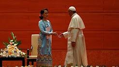 Myanmar: ĐGH Phanxicô gặp gỡ giới chức chính quyền (28.11.2017)