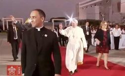 ĐGH Phanxicô tạm biệt Peru trở về Roma (21.1.2018)