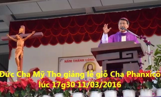 Bài giảng lễ giỗ Cha P.X Trương Bửu Diệp (11.3.2016)