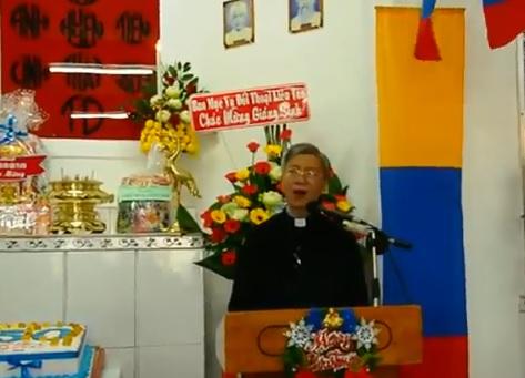 Phát biểu dịp lễ Giáng Sinh tại Tt Bàu Sen 2017