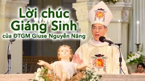 Lời chúc Giáng sinh của ĐTGM Giuse Nguyễn Năng