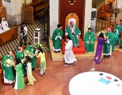 Thánh lễ Tạ ơn của phái đoàn Ngoại giao Toà thánh tại Sài Gòn