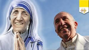 Thánh lễ tuyên thánh cho Mẹ Teresa Calcutta (4.9.2016)