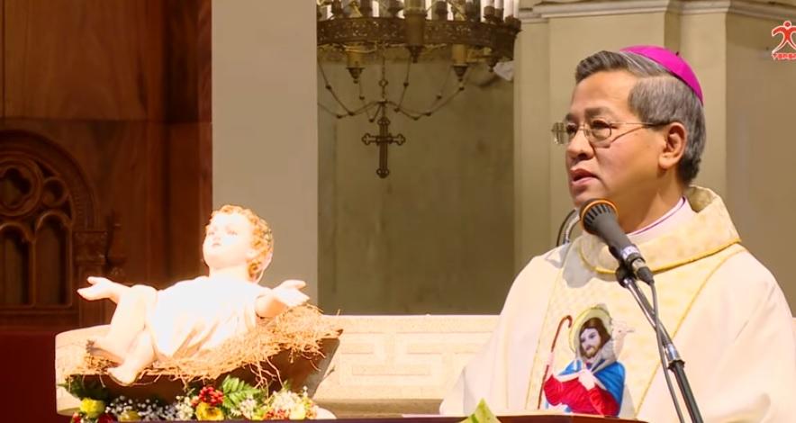 Đức TGM Giuse: Đức Giêsu chính là Ánh Sáng Bình An và Hy vọng