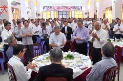 Linh mục đoàn TGP Sài Gòn Tất Niên (5.2.2018)