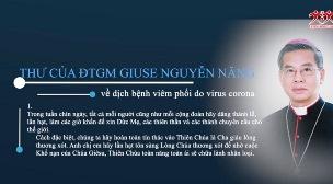 Thư của ĐTGM Giuse Nguyễn Năng về dịch bệnh viêm phổi