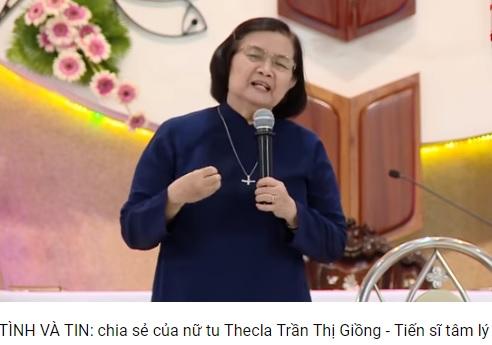 Tình và Tin - Nữ tu Nguyễn Thị Giồng