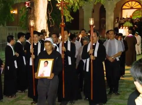 Lễ an táng cha Giuse Maria Đỗ Đình Ánh (3.5.2017)