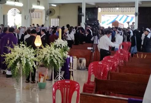 Thánh lễ An táng Lm. G.B Lê Đăng Niêm (4.5.2019)