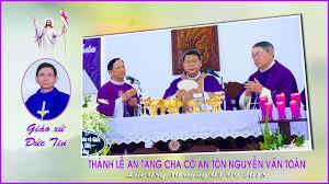 Thánh lễ an táng Cha cố Antôn Nguyễn Văn Toàn (3.9.2018)