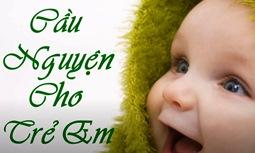 Cầu nguyện cho trẻ em