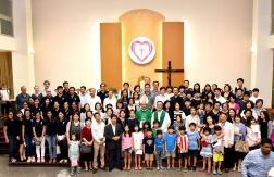 TTMV: Cộng đoàn quốc tế quy tụ trong đức tin (14.1.2018)