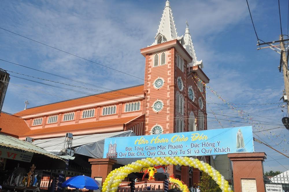 Lễ khánh thành Nhà thờ Fatima Bình Triệu (25.3.2017)
