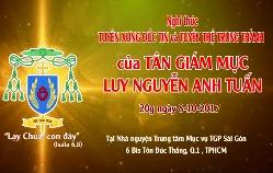Nghi thức Tuyên Xưng Đức Tin của tân GM Luy Nguyễn Anh Tuấn