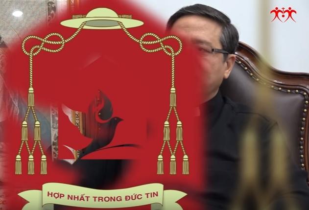 Khẩu hiệu của Đức tân giám mục Giuse Đỗ Mạnh Hùng