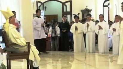 ĐCV Thánh Giuse: Thánh lễ Phong chức Phó tế (30.01.2016)